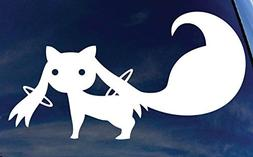 """Kyubey Magical Girl Madoka 5"""" Anime Decal Sticker for Cars L"""