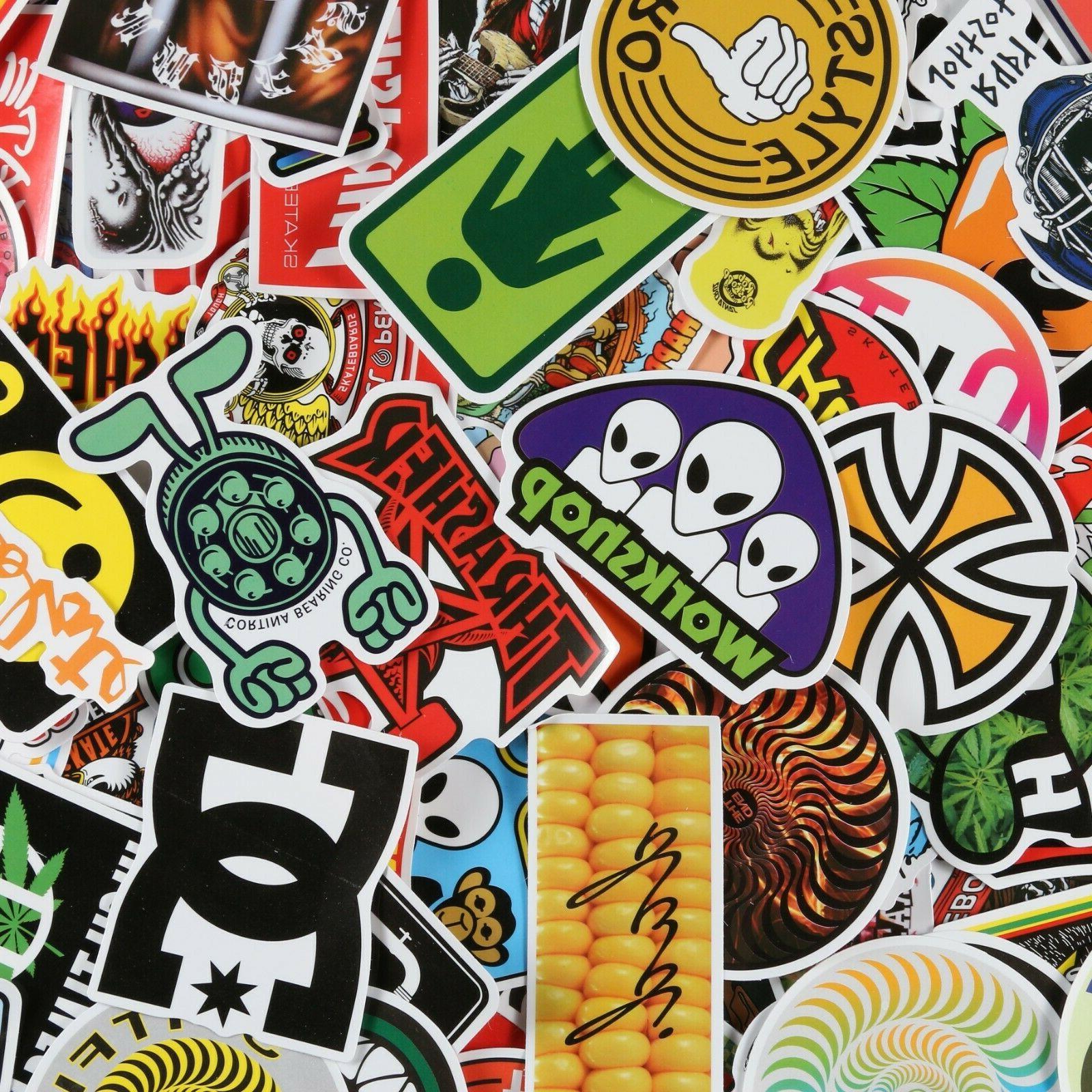 100pcs skateboard stickers bomb skate brand stickers