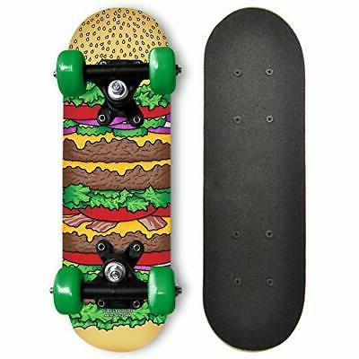 17 inch mini wooden cruiser skateboard graphic