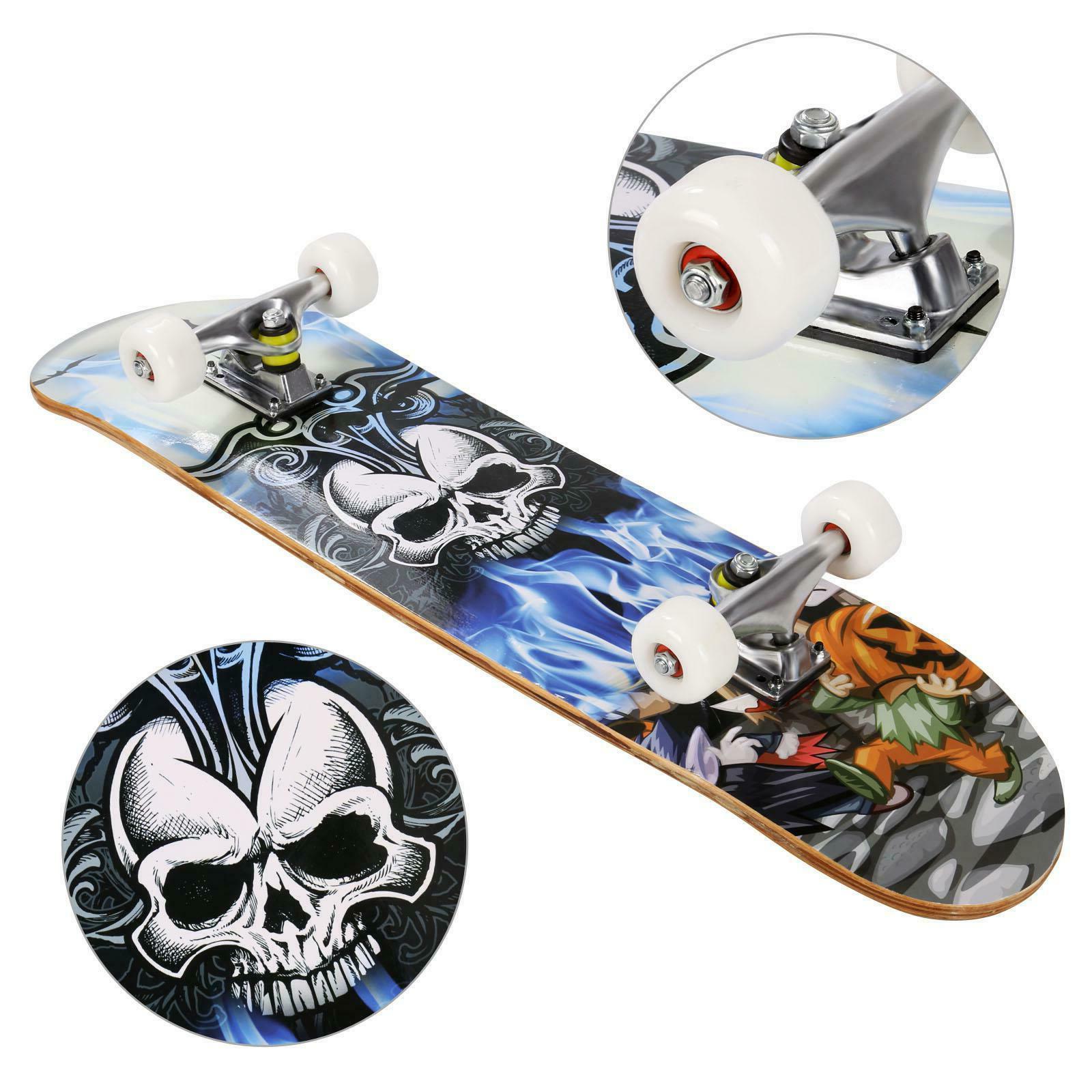 22/26/31In for Complete Skateboard Maple Gift