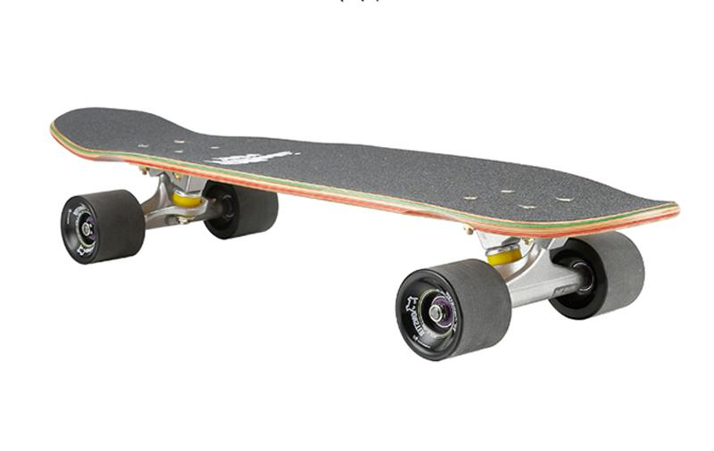 LMAI Bamboo Wood Skateboard Nickle Style