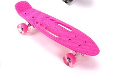 22 inch penny board skateboard with light