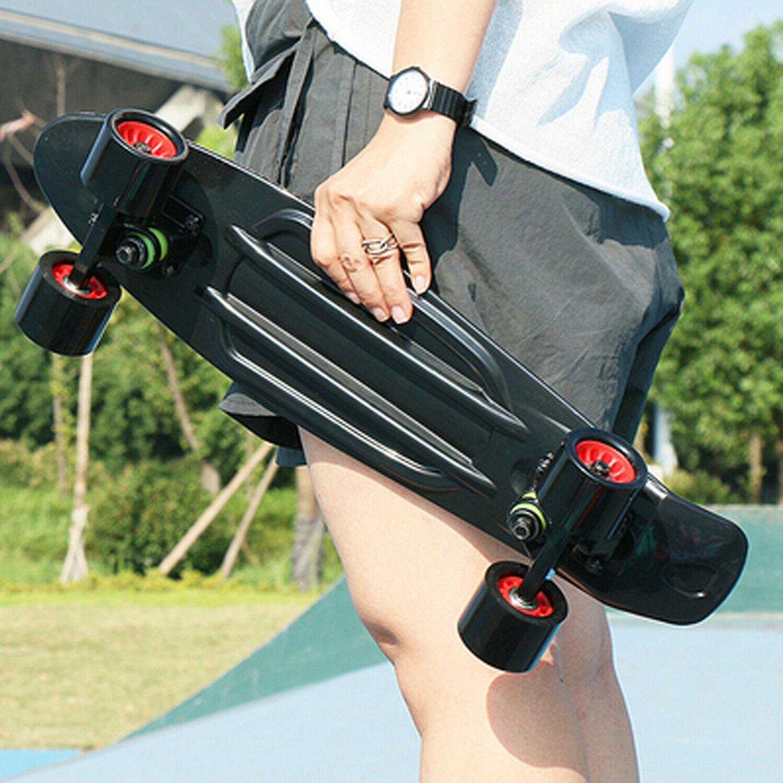 "22"" Skateboard Mini Board Plastic High Rebound PU Ups Shipping"