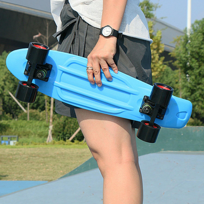 """22"""" Skateboard Mini Board Rebound Wheels Ups Shipping"""