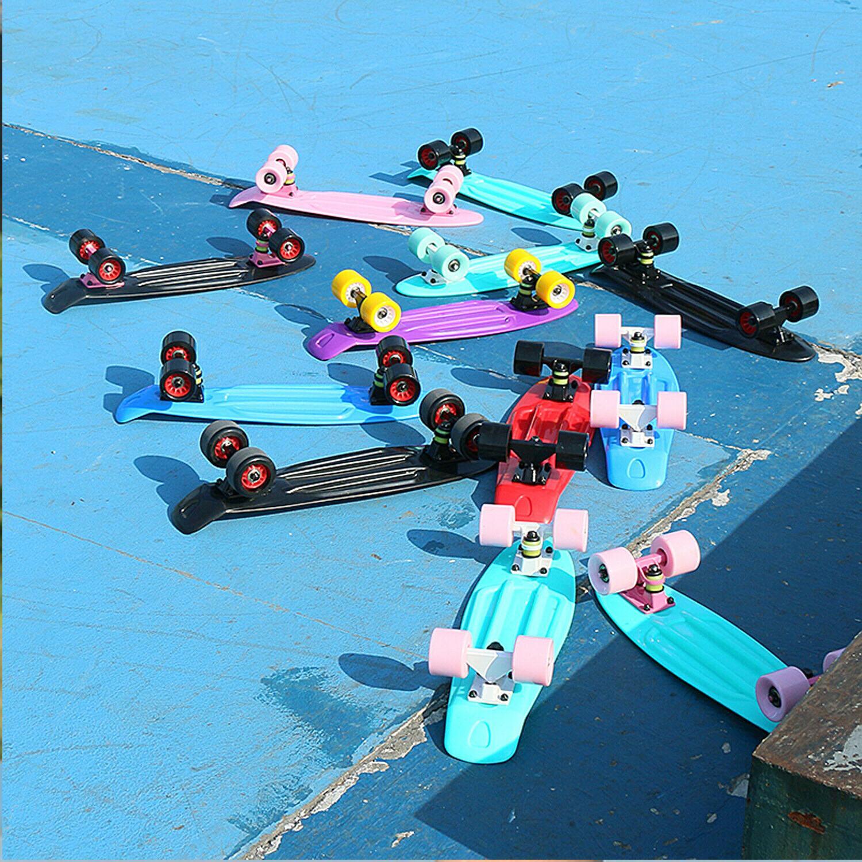 22 skateboard mini penny board plastic deck