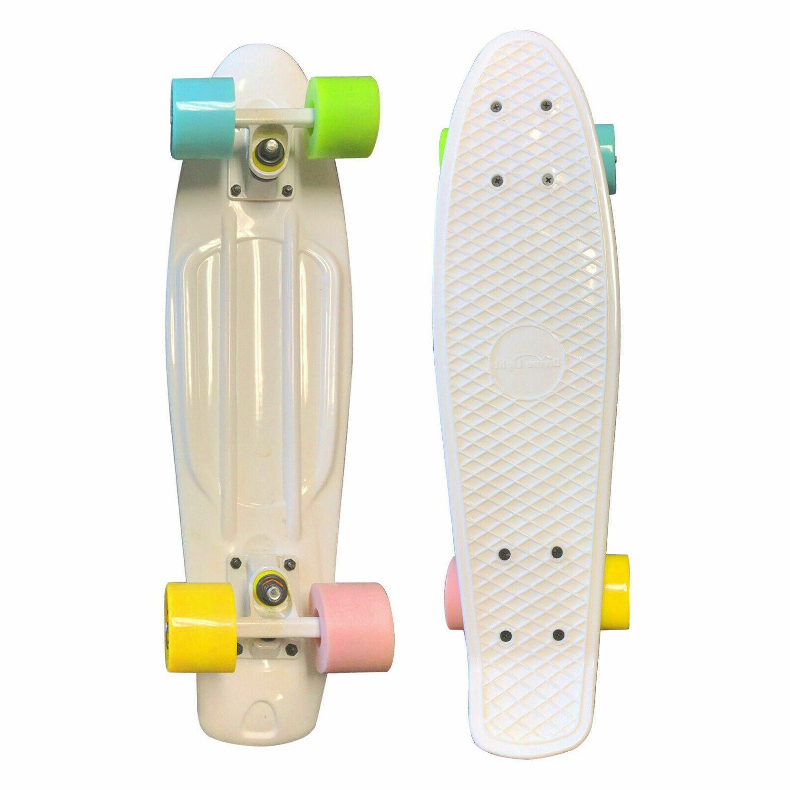 """22"""" Skateboard Plastic Board Shipping"""