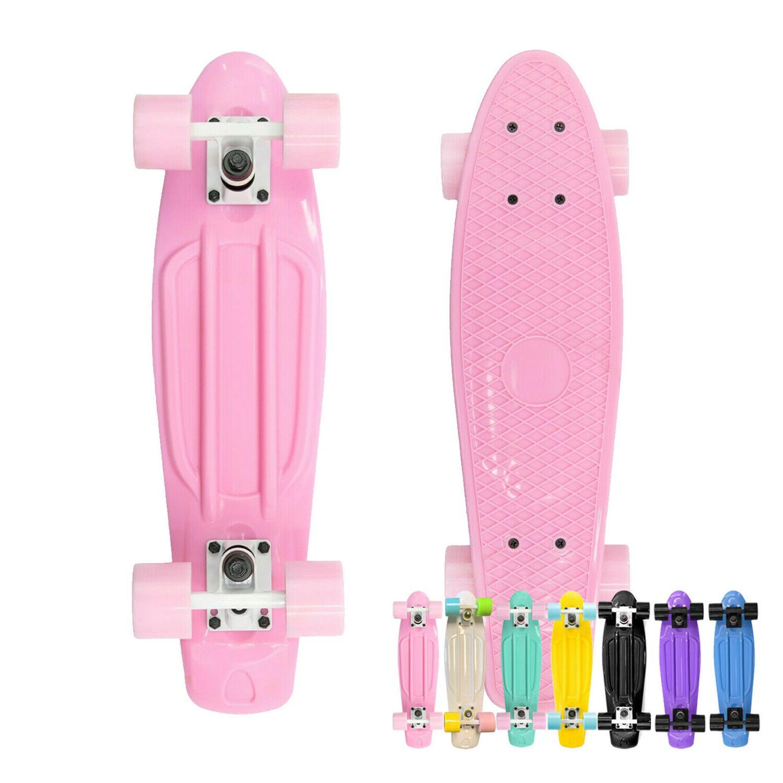 22 skateboard mini plastic deck penny style