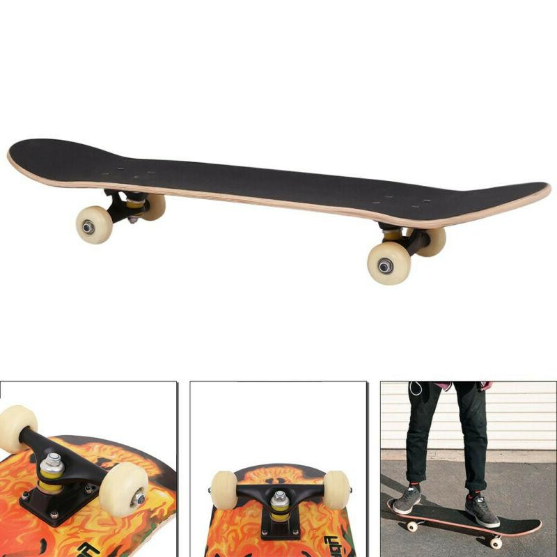 Adult Skateboard BLACK Skateboards, to ride
