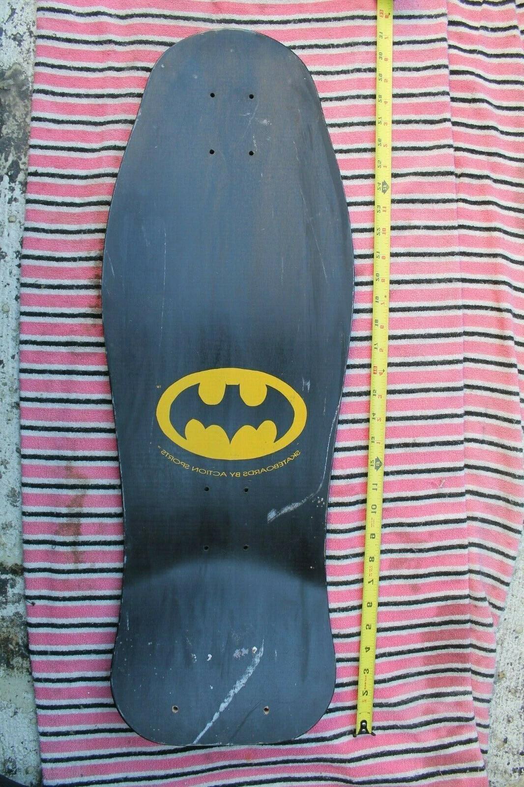 BATMAN 1980's Rare Action Sports 30in. SKATEBOARD
