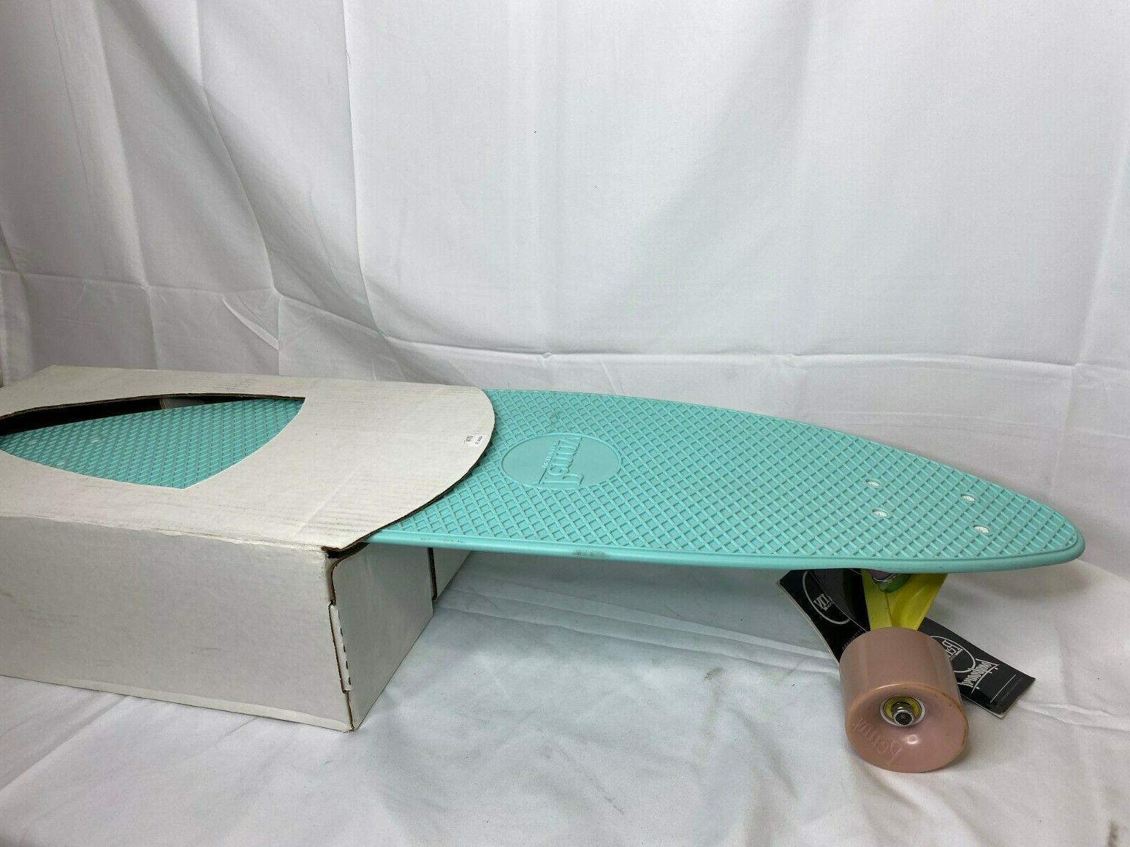 blue complete longboard waffle reverse