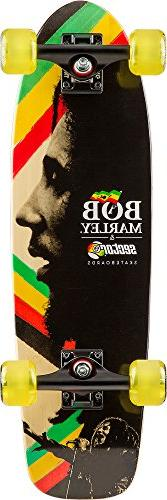 Sector 9 Bob Marley Natty Dread Complete 27 Inch Bamboo Top
