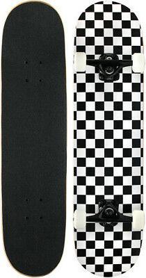 checker skateboard complete checkers abec