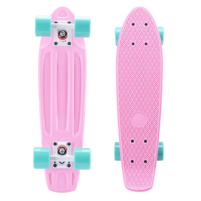 complete 22 inch mini cruiser skateboard