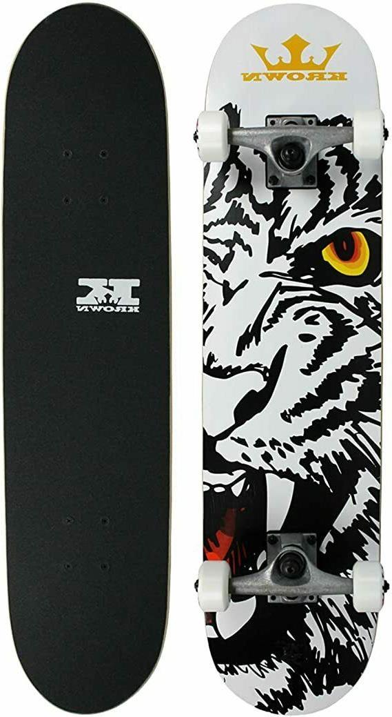 complete skateboard deck bengal rookie