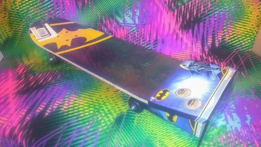 "DC Comics Batman Bat Skateboard Complete 31"" Youth"