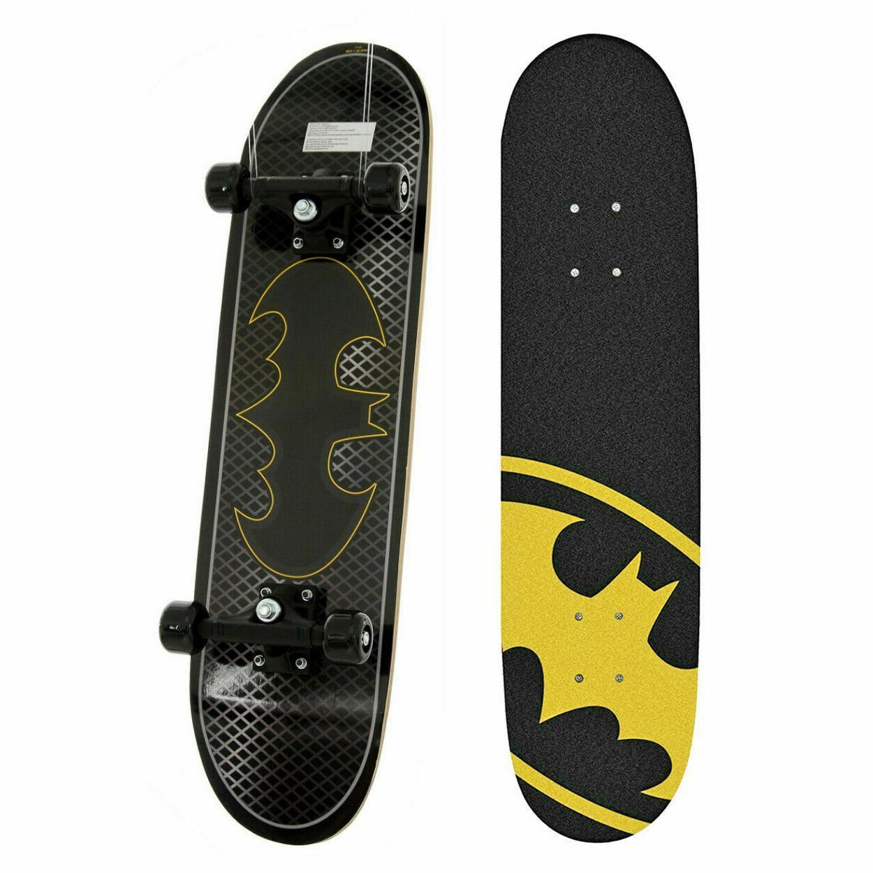 dc comics kids batman bat skateboard maple