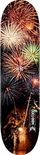 "Mini-Logo Deck 8.5"" Small Bomb Fireworks Shape 181 Skateboar"
