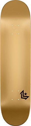 "Mini-Logo Deck 7.75"" Chevron Gold Shape 112 Skateboard,"
