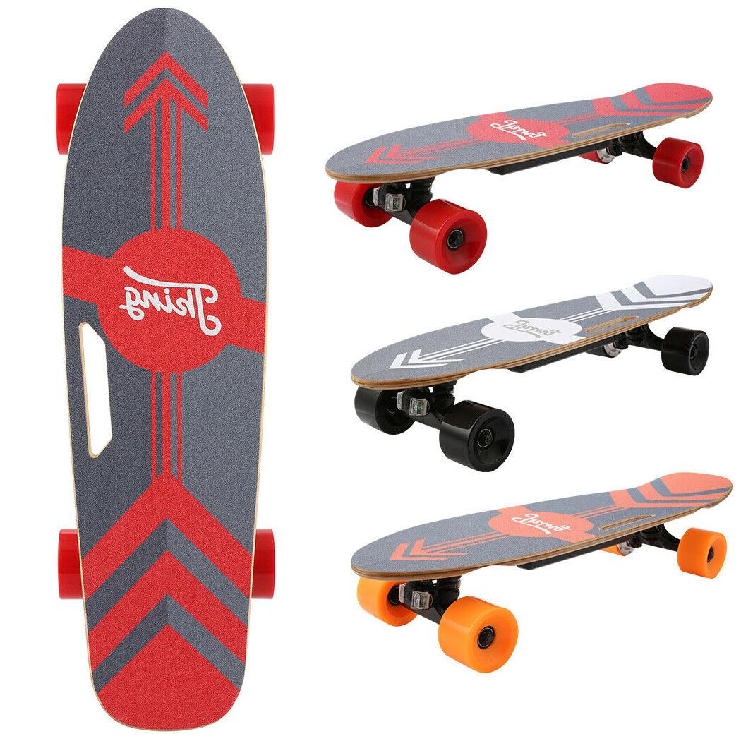 ANCHEER Power Motor Cruiser Long Board with Remote