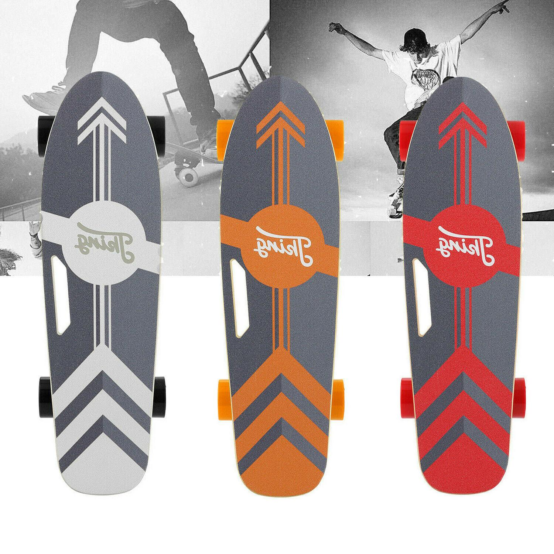 electric skateboard power motor cruiser maple long