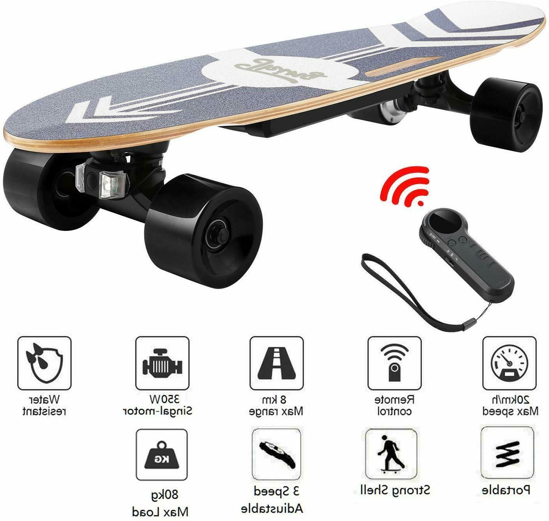 ANCHEER Skateboard Motor Smart Maple Long