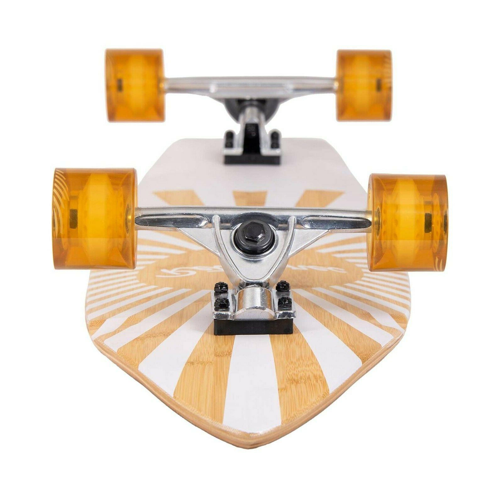 RETROSPEC Emporium Longboard Skateboard Sunburst