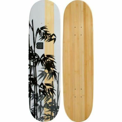 henon graphic bamboo skateboard deck only
