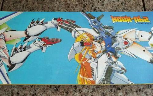 Hook-Ups Skateboard Deck Kawaii Anime Gundam