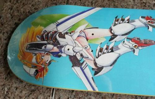 Hook-Ups Suits Skateboard Deck 8.25 Kawaii Anime Supreme