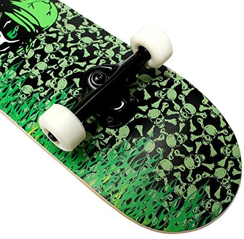 Krown Intro Skateboard, Flame