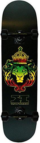 Krown Judah Lion Pro Complete Skateboard, 7.75 x 31.5