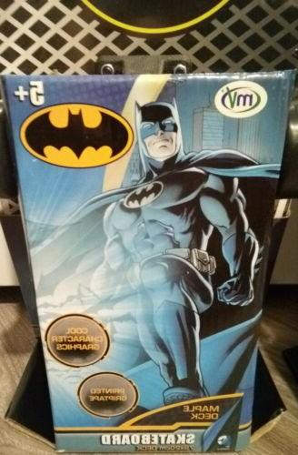 "DC Comics Kids Batman Skateboard Maple Deck Complete 31"" 8"""
