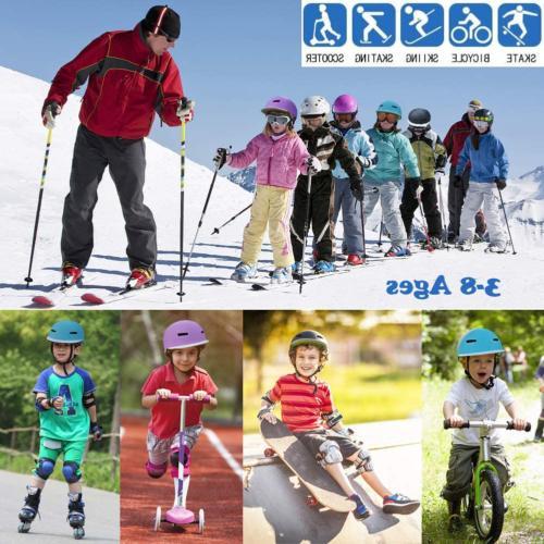 Kids Skateboard Helmet Girl 3 8 Years Cycli