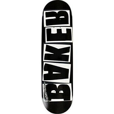 """Baker Brand Logo Black / White Skateboard Deck - 8.25"""" x 31."""