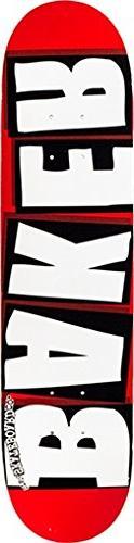 Baker Brand Logo Mini - White - 7.3in - Skateboard Deck