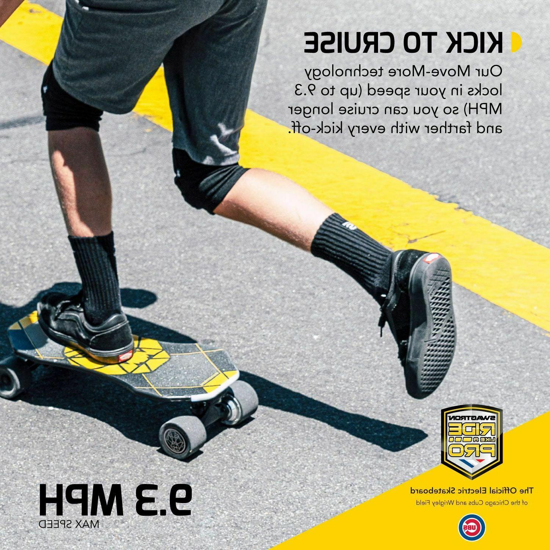 Swagtron Skateboard Teens Smart Mini E-Cruiser