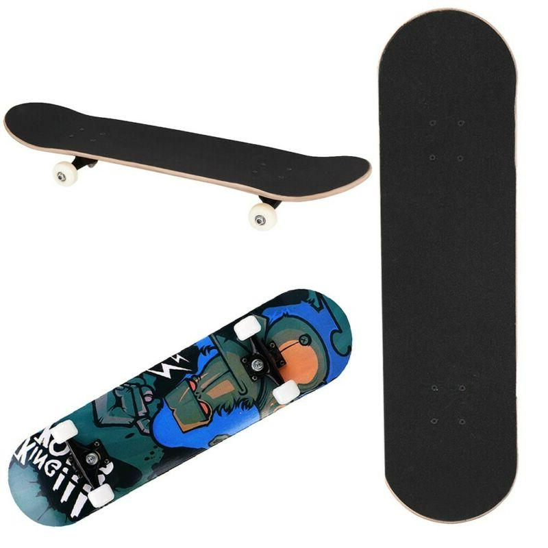 Orangutan Stained BLACK Skateboards, To