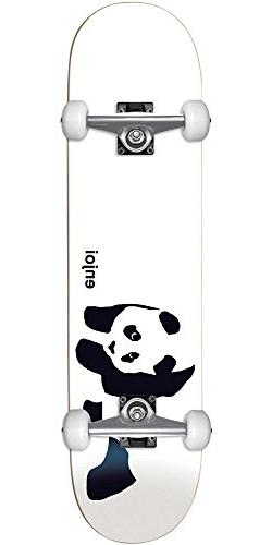 Enjoi Panda Soft Top Youth Complete Skateboard - Whitey - 6.