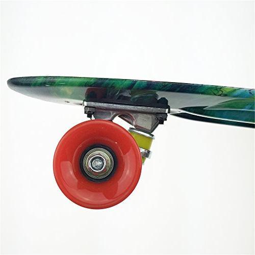 Mayhem Boards Penny Style Twister Plastic Board School ABEC 7