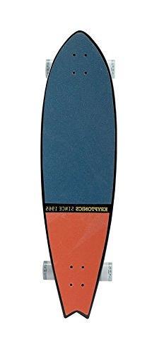"New Kryptonics 40"" Pin-Fishtail Longboard 8Ply Maple Tahitia"