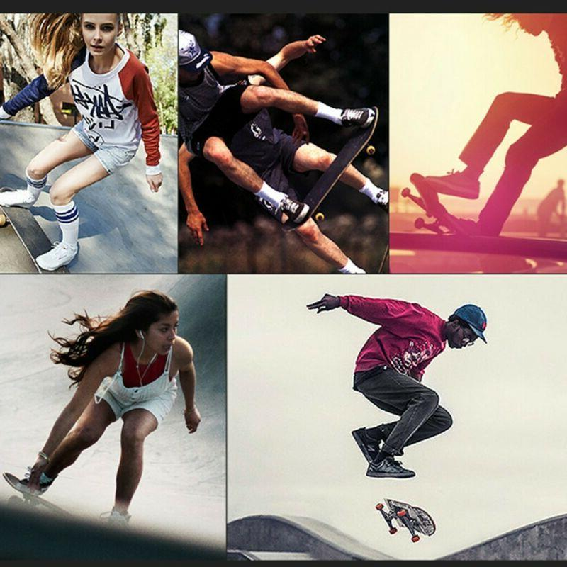 Pro Skateboard Blue Complete Skateboard Maple Youth