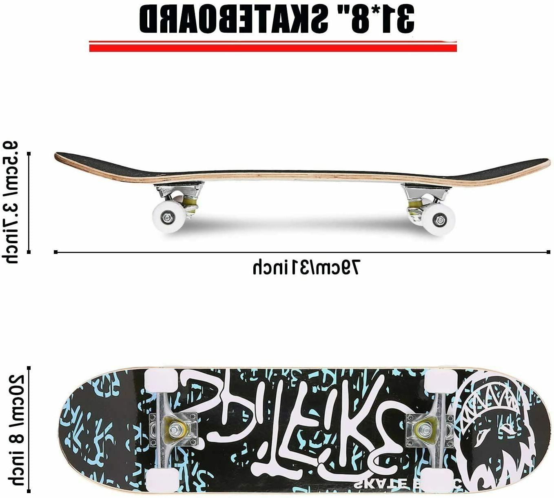 Pro Skateboards Size Standard Maple Deck Skateboard X