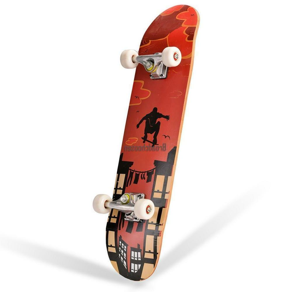 Professional Wheel Truck Maple Deck Solid
