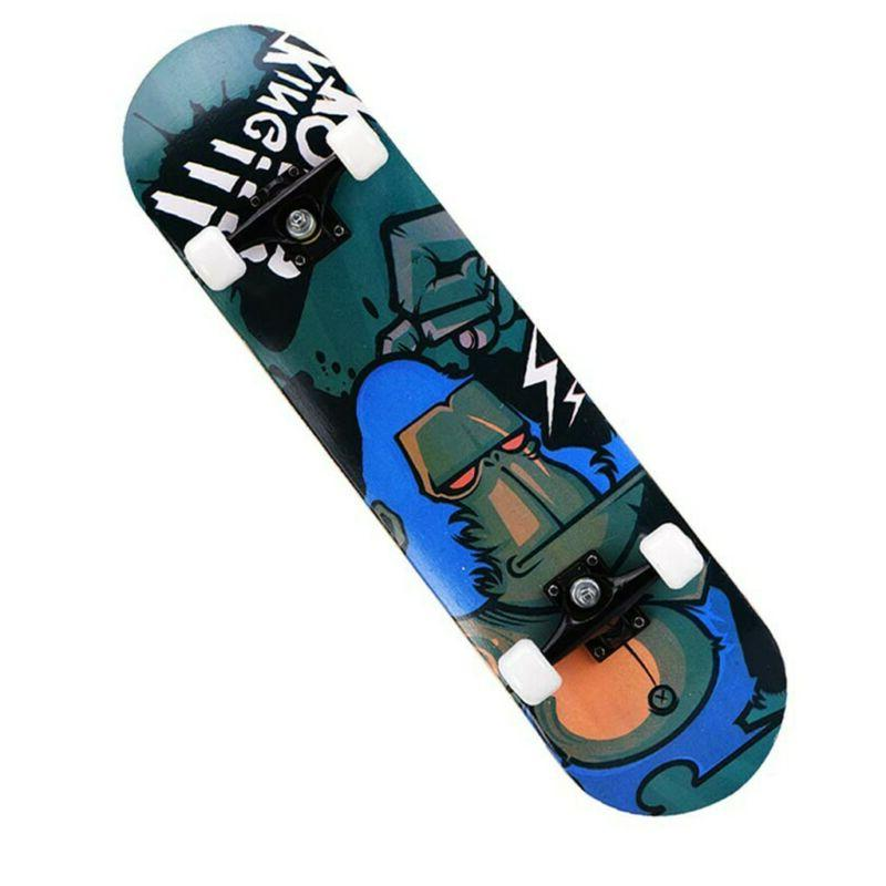 Orangutan Top Stained BLACK Skateboards, To