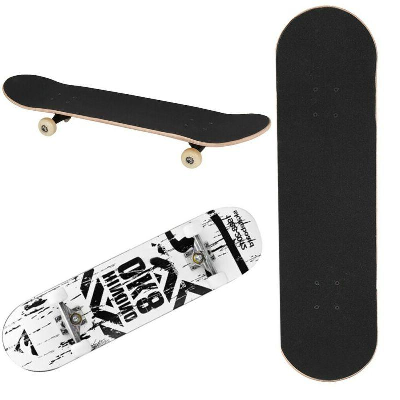 Pro Skateboard + Blue Skateboard Youth Beginner