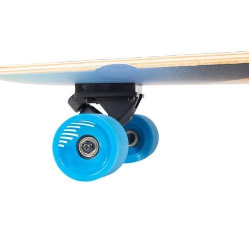 Retrospec Zed Bamboo Longboard Skateboard addition