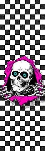 "Powell-Peralta Ripper Checker Griptape - 9"" x 33"""
