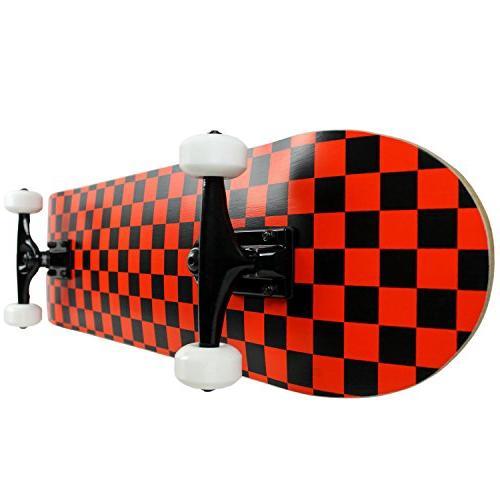 """Krown Checker Black/Red, 7.75"""""""