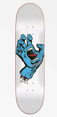 "Santa Cruz Screaming Hand Taper Tip 8.25"" Skateboard Deck CL"