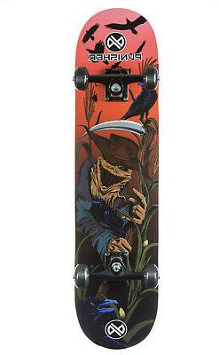 Punisher Skateboards SCARECROW Complete Skateboard with Conv